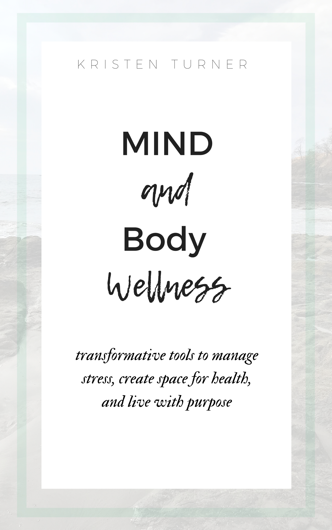 mind and body wellness book cover